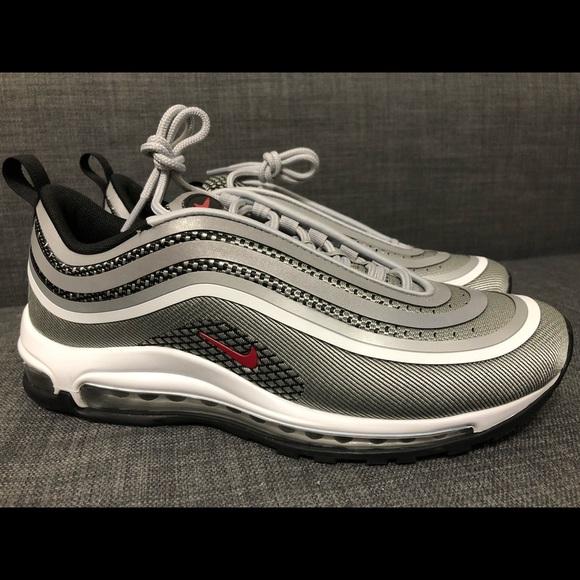 "Nike Air Max 97 Ultra '17 ""Silver Bullet"" Metaliczny srebrny"